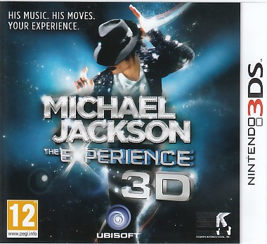 "Packshot for ""Michael Jackson The Experience 3DS"""