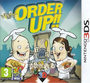 """Packshot for """"Order Up 3DS"""""""