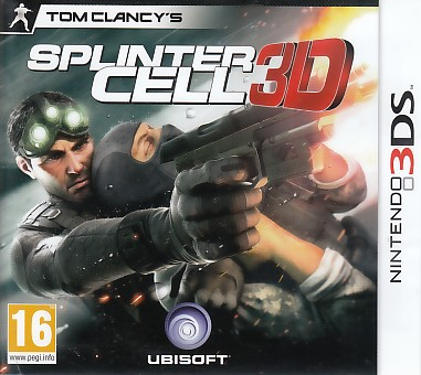 "Packshot for ""Splinter Cell 3DS"""
