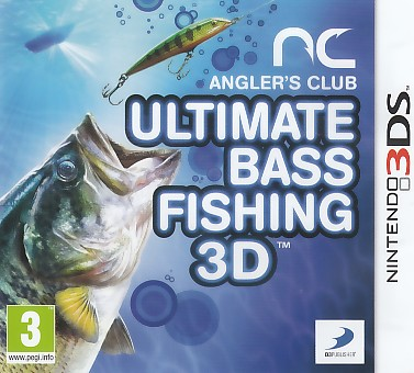 "Packshot for ""Ultimate Bass Fishing 3DS"""