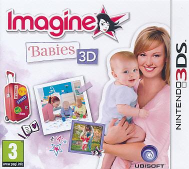 """Packshot for """"Imagine Babies 3DS"""""""