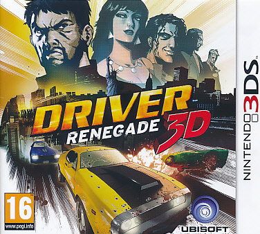 """Packshot for """"Driver Renegade 3DS"""""""