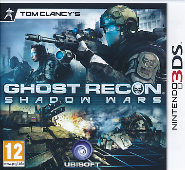 """Packshot for """"Ghost Recon Shadow Wars 3DS"""""""