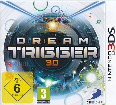 "Packshot for ""Dream Trigger 3DS"""