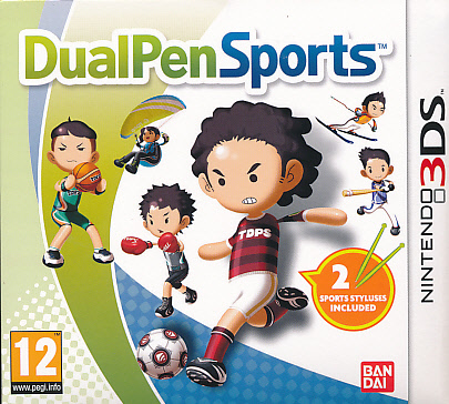 "Packshot for ""Dual Pen Sports 3DS"""