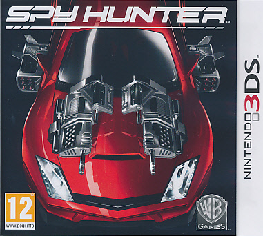 """Packshot for """"Spy Hunter 3DS"""""""