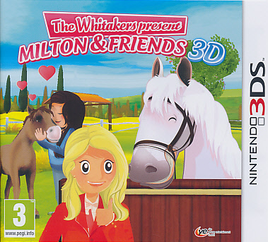 """Packshot for """"Whitakers Milton & Friends 3DS"""""""
