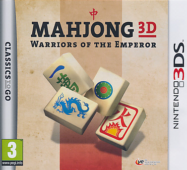 "Packshot for ""Mahjong 3D Warriors of the Emp. 3DS"""