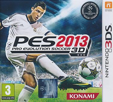 """Packshot for """"PES 2013 3DS"""""""