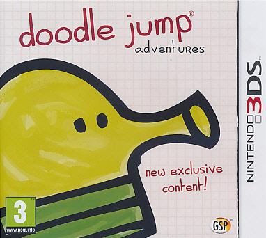 """Packshot for """"Doodle Jump 3DS"""""""