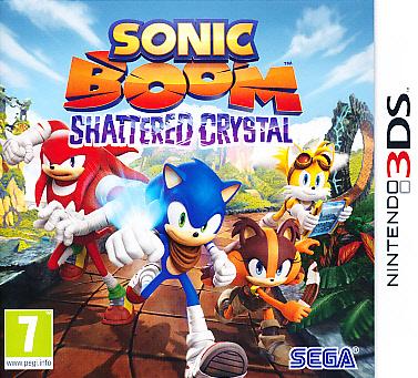 "Packshot for ""Sonic Boom Shattered Crystal 3DS"""