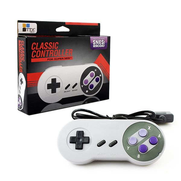 "Packshot for ""SNES Classic Controller TTX"""