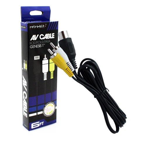 """Packshot for """"Genesis 1 AV Cable Retro-Bit"""""""