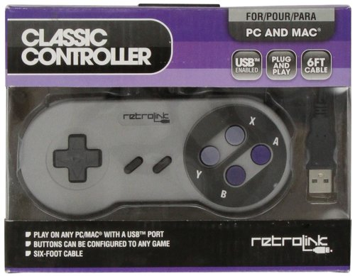 "Packshot for ""SNES Class Controller USB Retrolink"""