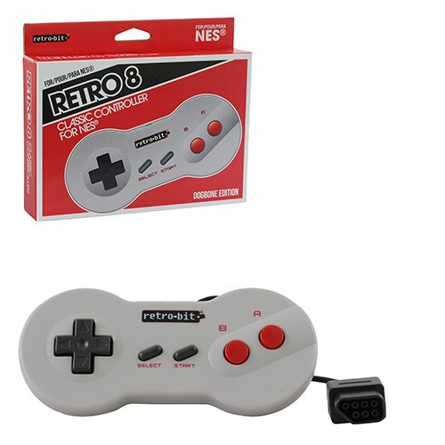 "Packshot for ""NES Wired Controller Dogbone Style"""
