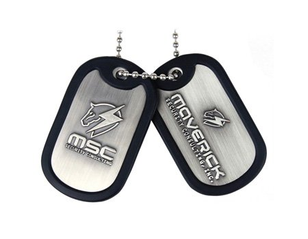 "Packshot for ""Metal Gear Rising Maverick Dog Tags"""