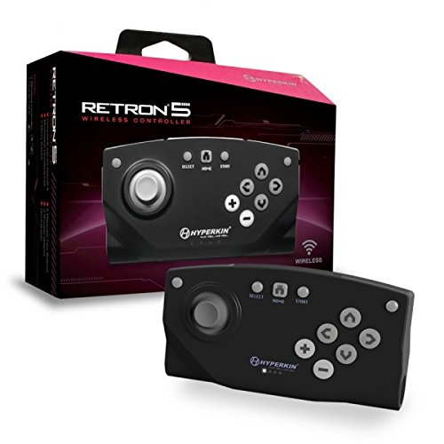 "Packshot for ""Hyperkin RetroN 5 BT Controll.Black"""