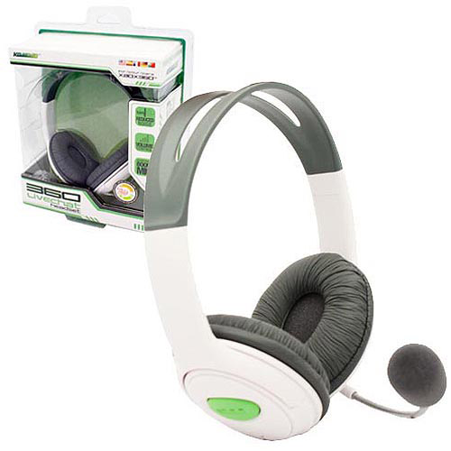 "Packshot for ""X360 Pro Gamer Chat Headset KMD"""