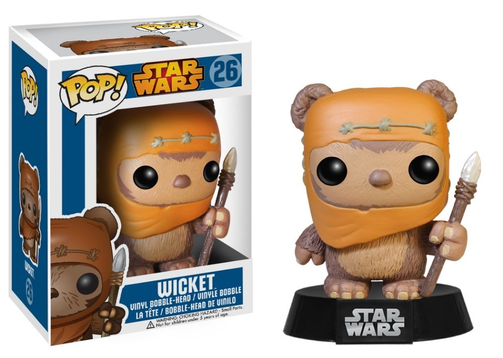 "Packshot for ""POP Star Wars Ewok Wicket"""