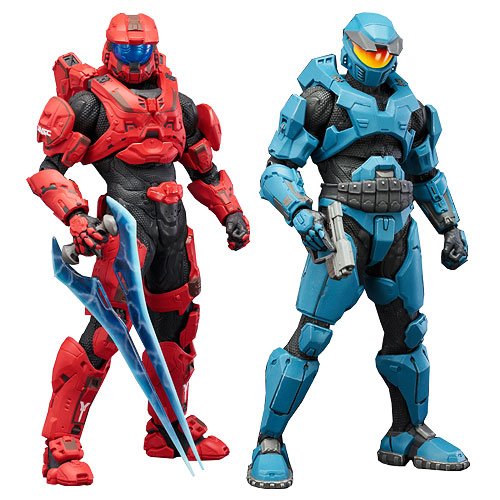 "Packshot for ""Halo Spartan Red/Blue 2Pack Artfx+"""