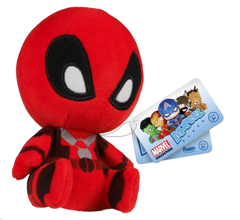 """Packshot for """"Mopeez Marvel Deadpool Red Plush"""""""