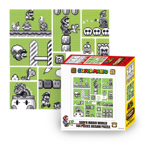 "Packshot for ""Puzzle Super Mario 30th Anni. Green"""