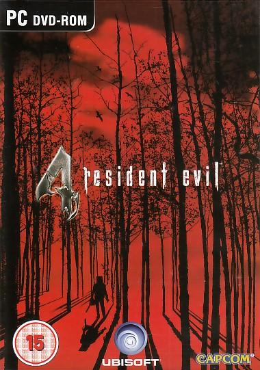 """Packshot for """"Resident Evil 4 BBFC PC"""""""