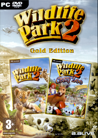 "Packshot for ""Wildlife Park 2 GOLD PC"""