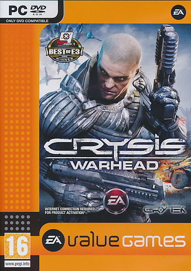 "Packshot for ""Crysis Warhead BUDGET PC"""