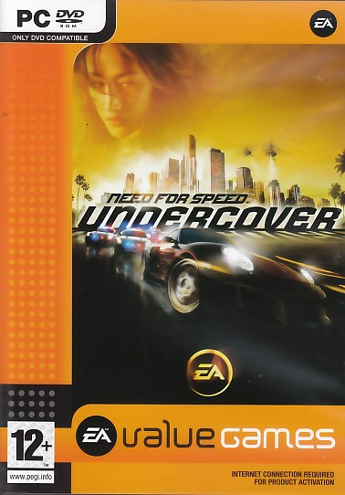 "Packshot for ""NFS Undercover BUDGET PC"""