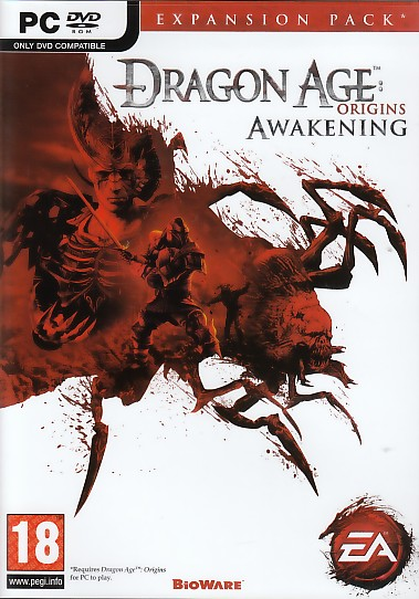 "Packshot for ""Dragon Age Origins Awakening PC"""