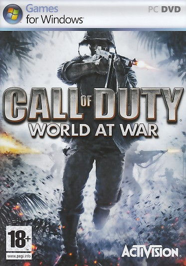 "Packshot for ""Call of Duty World at War PC"""
