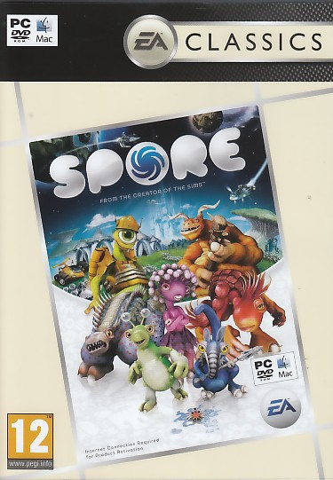 "Packshot for ""Spore CLASS PC"""