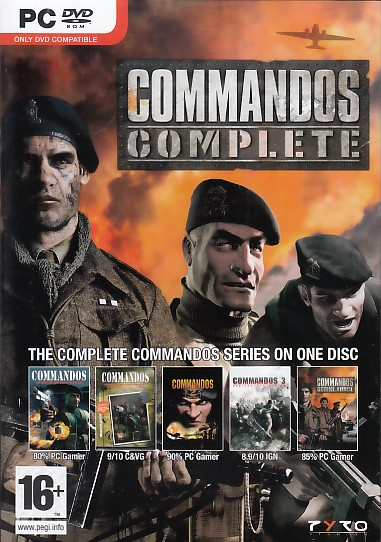 "Packshot for ""Commandos Complete Coll. PC"""