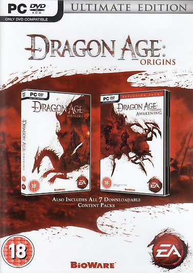 "Packshot for ""Dragon Age Origins Ulti. Ed.BBFC PC"""