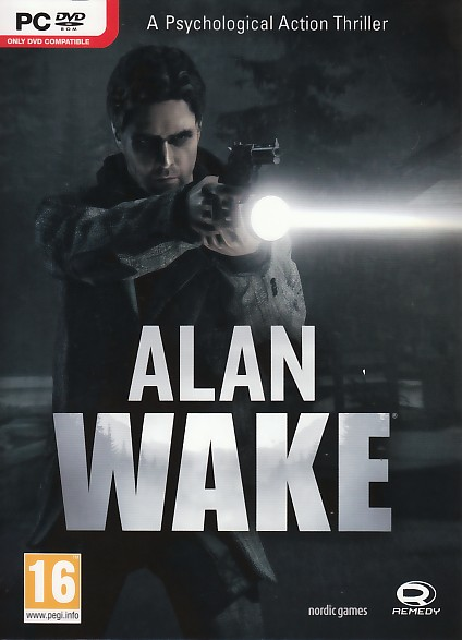 "Packshot for ""Alan Wake PC"""
