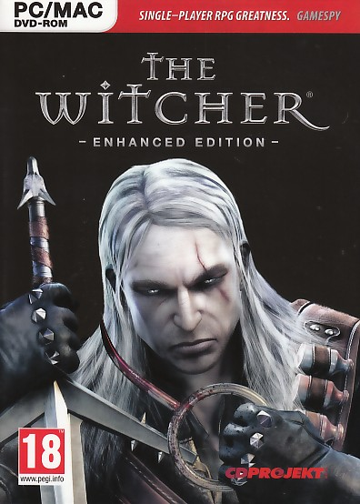 "Packshot for ""Witcher Enhanced Ed. PC"""