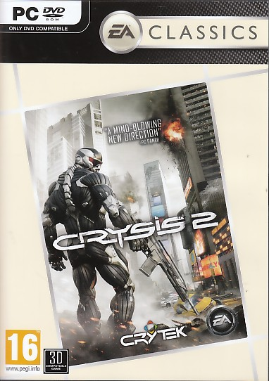 "Packshot for ""Crysis 2 BUDGET PC"""
