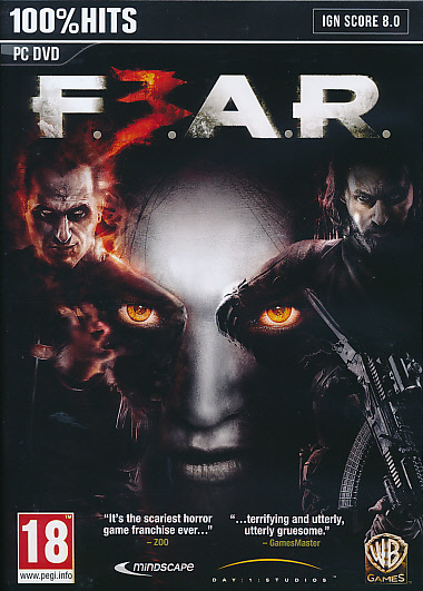 "Packshot for ""FEAR 3 PC"""