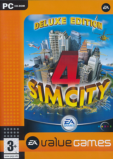 "Packshot for ""Sim City 4 Deluxe Ed. BUDGET PC"""