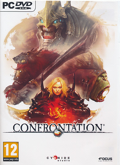 "Packshot for ""Confrontation PC"""