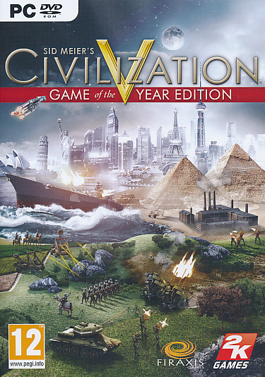 "Packshot for ""Civilization 5 GOTY PC"""