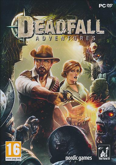 """Packshot for """"Deadfall Adventures PC"""""""