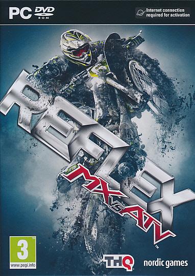 "Packshot for ""MX vs ATV Reflex PC"""