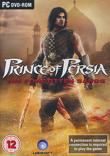 "Packshot for ""Prince of Persia Forg Sands BBFC PC"""