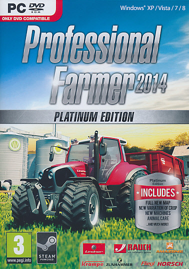 "Packshot for ""Professional Farmer 2014 Plat.Ed.PC"""