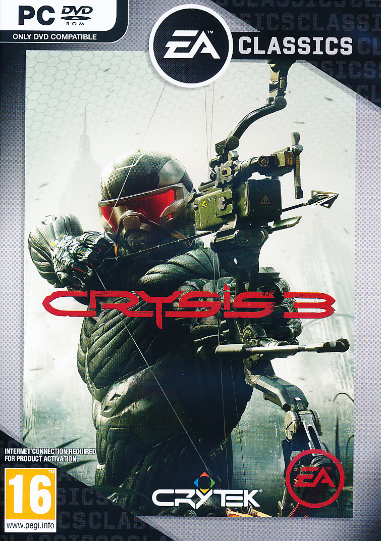 "Packshot for ""Crysis 3 PC"""