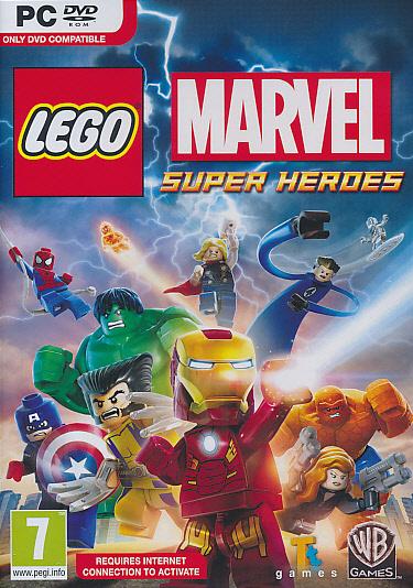 "Packshot for ""Lego Marvel Superheroes PC"""
