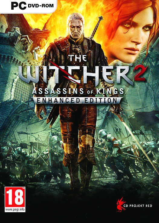 "Packshot for ""Witcher 2 Assassins of. Enh. Ed PC"""