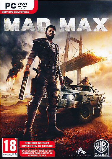 "Packshot for ""Mad Max PC"""
